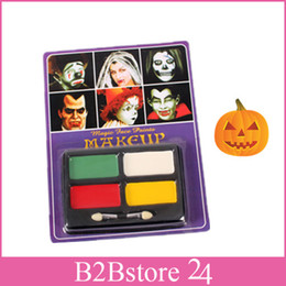 Wholesale Waterproof Halloween Face Paint Non toxic Children Halloween Carnival Party Face Paint Makeup
