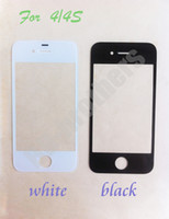 Cheap A Quality For iPhone 4 4S 5 5S Outer Front Screen Lens Glass, Mobile Phone Repair Part Replacement 100
