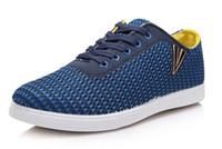 men tennis shoes - Men s summer ventilate tennis shoes leisure shoes