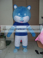 Mascot Costumes baby holloween costumes - Holloween New arrival Beauty Adult lovely blue cat baby mascot fancy dress Christmas party costume