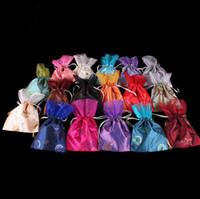 paillette regalo Bolsas bolsas joyería barato lazo de Lucky China Bolsa de seda color de la mezcla del estilo de Nueva manera caliente
