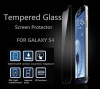 Wholesale Front Tempered Glass Touch Screen Protector Protective Film Guard For Samsung Galaxy S3 S4 S5 Note Iphone S S C without retail box