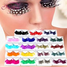 Wholesale Halloween Dance Party CosplayChristmas False Eyelashes Natural Beautiful Feather False Eyelash extensions eyeshadowpalette foundation makeup