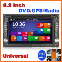 Wholesale Universal Inch Touch Screen Car DVD Player for HYUNDAI NISSAN DODGE Inokom GPS Bluetooth Radio RDS AUX OS WINCE Android Optional