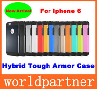 Wholesale New Arrival Tough Armor Hybrid SGP Shockproof Hard Plastic Soft TPU Case Cover Skin for Iphone Air with Retail Package Screen Protector
