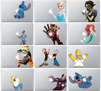 Wholesale Hottest Princess Snow White spiderman Sticker Skin protector for Apple MacBook Air quot Air Pro Mac quot quot quot Retina quot inch