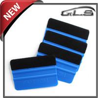Wholesale Hot Selling Soft Car M Squeegee With Felt For Car Wrap Paste Tools High Quality Car Film Scraper Per