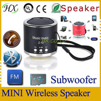 Wholesale New Hot USB Portable Mini Stereo Speaker Wireless MP3 Player Computer Amplifier FM Radio USB Micro SD TF Card OS000396