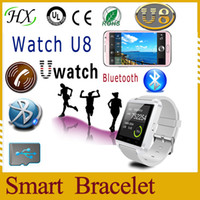 Cheap Free shipping Bluetooth SmartWatch WristWatch U8 Watch for iPhone4 4S 5 5S Samsung S4 Note 2 Note 3 HTC Android Smartphone