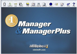 Auto repair Software Mitchell manager 5.9 Mitchell manager Plus with free shipping by post