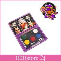 6 Colors Magic Face Paints for Halloween Dancing Party Sport...