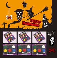 Wholesale Halloween Magic Face Paints Non toxic Face and Body Paint Makeup Colors