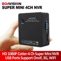 Wholesale Super Mini CH P Full HD HDMI NVR P P P IP camera video recorder NVR Onvif HDMI E SATA Support USB G Wifi