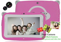 pink tablet - New Mini Q88 Kids Tablet inch Android Tablet PC RK2926 Dual Core M GB GHz Webcam WiFi Educate Apps Blue and Pink Colors