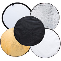 Wholesale inch cm in Portable Collapsible Light Round Photography Reflector for Studio Outdoor Photo A2