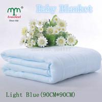 Wholesale New Promotion PC Cotton Double Gauze Baby Blanket Swaddling Waffle Baby Sheet and Bedding Set