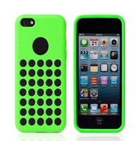 Silicone iphone 5c - New Arrival Silicone Case Cover for iPhone C iphone5C Colors Cell Phone Cases Free DHL