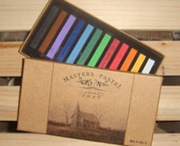 hair sticks - Masters Pastel Easy Temporary Colors Non toxic Hair Chalk Dye Soft Hair Pastels Kit Chalk Pastel Stick Vermicelli Chalk DIY Hair Colors