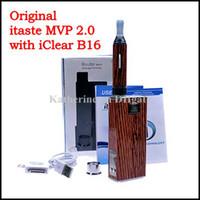 Cheap E Cigarette Innokin itaste MVP 2.0 Kits with iClear 16B Clearomizer 2600mah Voltage Adjustable Battery i Taste MVP Genuine 4 Colors Instock