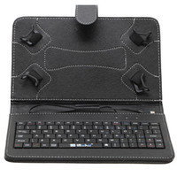 Wholesale New Arrival iRulu inch Leather Keyboard Stand Case For inch inch inch Q88 Tablet pc colors