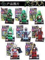 Wholesale Action Figures Minifigures styles a set suit with arms skateboard Mirage Teenage Mutant Ninja Turtles