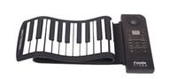 Wholesale 2014 new LED Digital Display Keys Soft Keyboard Roll Up Electronic Piano Keyboard Musical Instruments