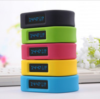 Wholesale Cheap Bluetooth Bracelet works with Android Smartphone with BT Connection Sports Records Sleep Monitoring Stopwacth colors