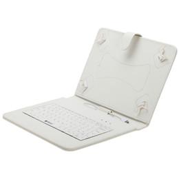 Soportar pulgadas en Línea-Nueva llegada iRULU cuero del teclado de 10 pulgadas Para el caso del soporte de 10 pulgadas de 10,1 pulgadas PC Tablet PC de la tableta 3G phablet