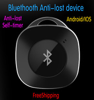 Wholesale Anti Lost Object Finder Anti theft Burglar Alarm for IOS Android Bluetooth Remote Camera Control Self timer Shutter