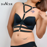 Cheap sexy Triangle Frame Bra Harness Cage Bra Corset Bondage Bralette Rose with Heart 2014 new women gift