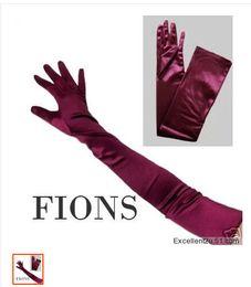 Wholesale 2014 Deep Purple performances gloves l etiquette T Taiwan gloves bridal gloves dress gloves bridal gloves