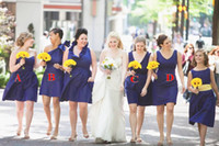Cheap Short Lovely 4 Styles Hot Sexy Bridesmaid Dresses 2014 For Teens Young Girls 2014 Chic Ruffled One Shoulder SSJ Bridesmaid Dresses