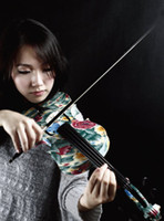Wholesale 2014 High Quality Art Acoustic Violins with free case and violin fittings