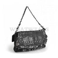 Cheap Free Shipping Womens Vintage Designer Skull Tassel Handbag Shoulder Bag Clutch Purse [6 10-0664]