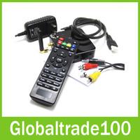 Wholesale WS A31 Android TV Box Quad Core Mini PC RJ45 G G ROM HDMI Bluetooth WIFI Smart TV Media Player with Remote Controler