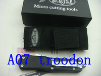 Wholesale Microtech A07 troodon knife blade white blade knives kninds of blade