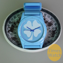 Wholesale 50pcs Hot sale New Colorful Silicone AD luxury watch leaf grass fashion silicon women Men Sport wristWatch