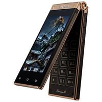 Wholesale 3 inch OTIUM MINI W2014 Android Flip Phone MTK6572 GHz Dual Core WVGA IPS Dual Screen GB ROM Dual Cameras WiFi