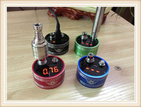 Wholesale New Style Atomizer Resistance Ohm Meter ecig Ohm Meter Ohm Reader Test Atomizer Resistance with USB Cable