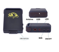 Cheap Retail SPY Real-time Mini GPS Tracker GPS GSM GPRS Vehicle Car Tracking system TK102B