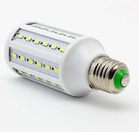 Wholesale SMD5630 degree Super bright SMD5630 white warm white W LED Bulb E27 lm Corn light AC220V V Pieces Only