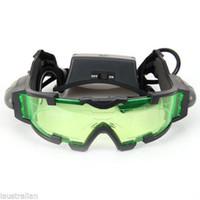 night vision goggles - New Night Vision Goggles Glasses Spy ft In Dark Flip out LED Lights