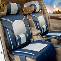 Wholesale P4002 factory direct high grade leather upholstery cushion seat covers Four Seasons General Motors automotive supplies