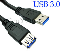 Wholesale 1Ft m USB A Male To Female M F Extension Cable Premium Quality For PC Laptop