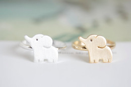 MIN 1pc cute elephant rings,unique rings,adjustable rings,animal rings,cool rings,couple rings,cute rings, JZ202