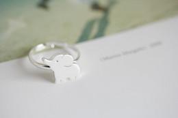10pcs lot cute elephant rings,unique rings,adjustable rings,animal rings,cool rings,couple rings,cute rings, JZ202