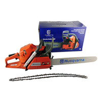Wholesale Husqvarna Gasoline Chainsaw Chain Saw CC KW quot Guide Bar DHL