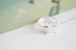 10pcs lot unique rings adjustable rings animal rings bambi gentle rhinestone ring onta open ring, JZ205