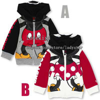 Wholesale Mickey Minnie Boys Girls Children Clothes Kids Clothing Autumn Coat Children Hoodie Sweatshirts Fashion Baby Hoodie Kids Hoodie Sweatshirts