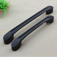 Cheap [ Germany ] Hung Ying Chinese small black door handle simple matte black cabinet drawer furniture handle